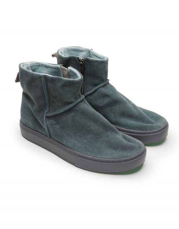 נעלי נשים - Satorisan - מגפוני זמש MERAKI LO - שחור