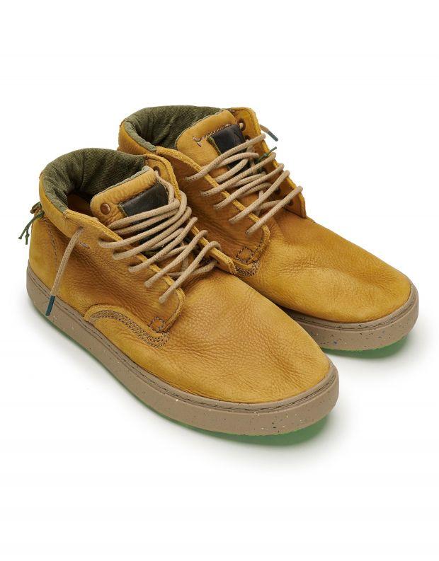 נעלי גברים - Satorisan - נעלי עור WANAKA - קאמל