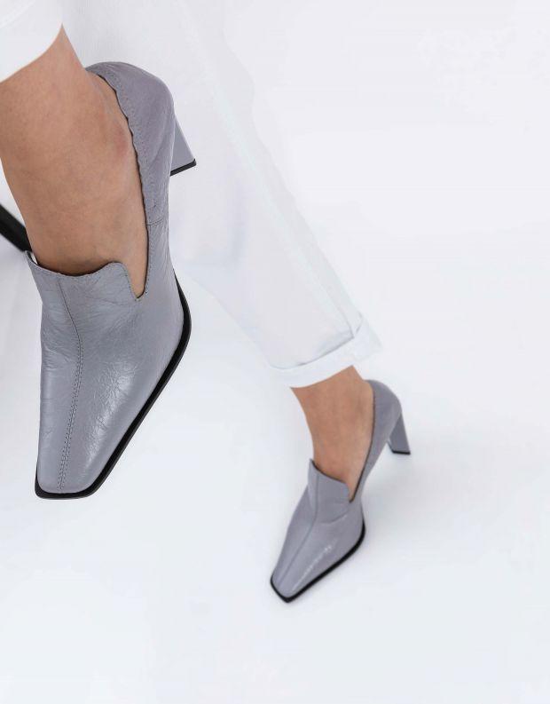 נעלי נשים - Jeffrey Campbell - נעלי עקב MARTYR - אפור