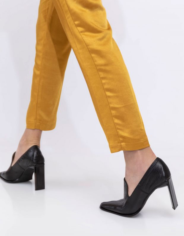 נעלי נשים - Jeffrey Campbell - נעלי עקב MARTYR - שחור