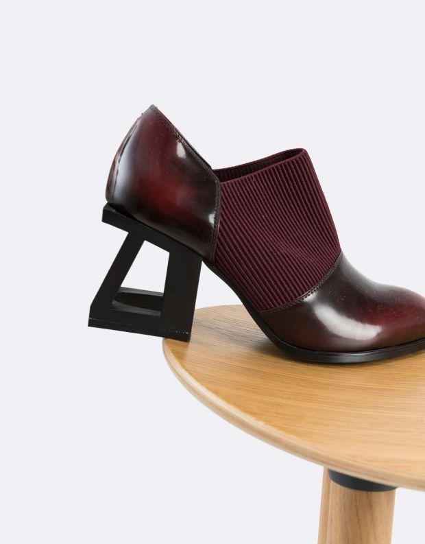 נעלי נשים - Jeffrey Campbell - נעלי עקב GUDMUND - בורדו