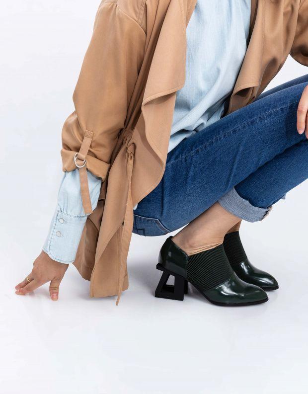 נעלי נשים - Jeffrey Campbell - נעלי עקב GUDMUND - ירוק