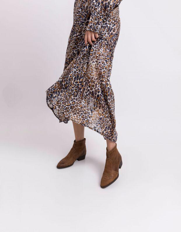 נעלי נשים - NR Rapisardi - מגפונים טבעוניים TANIA - חום