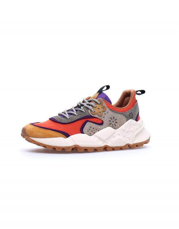 נעלי נשים - Flower Mountain - סניקרס צבעוניות KOTETSU - כתום
