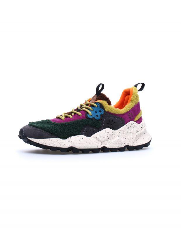 נעלי נשים - Flower Mountain - סניקרס פרווה KOTETSU - צבעוני