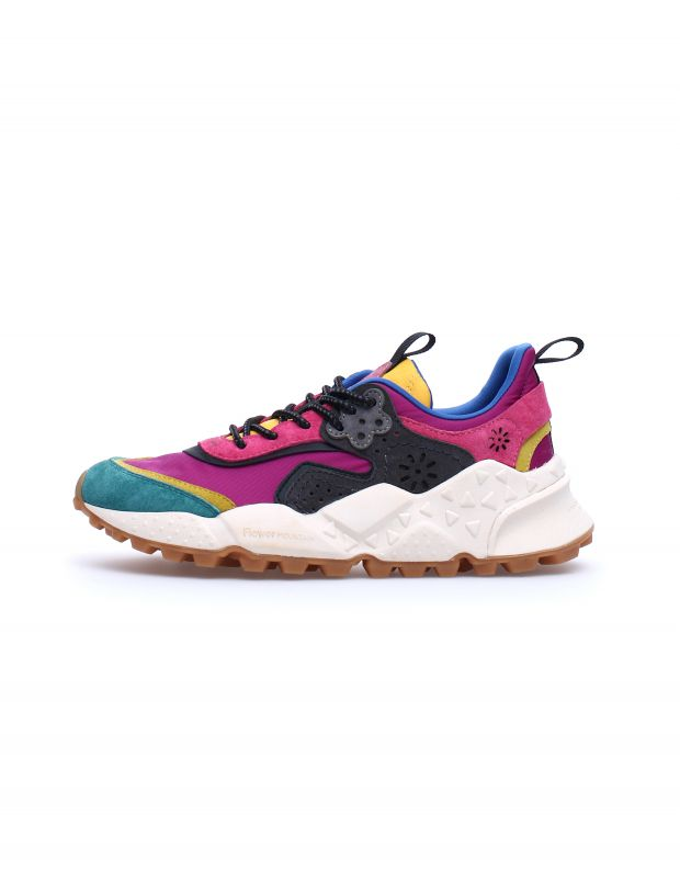 נעלי נשים - Flower Mountain - סניקרס צבעוניות KOTETSU - פוקסיה