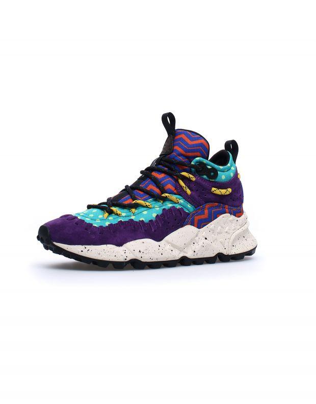 נעלי נשים - Flower Mountain - סניקרס גבוהות MOHICAN - צבעוני