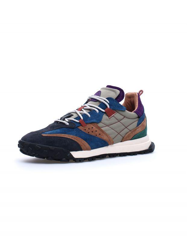 נעלי גברים - Flower Mountain - סניקרס WALNUT - כחול
