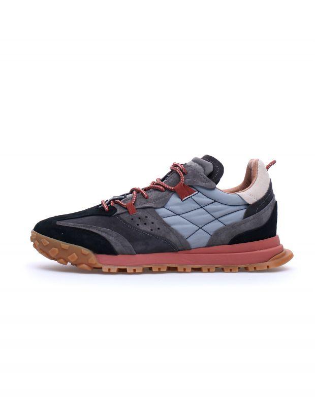 נעלי גברים - Flower Mountain - סניקרס WALNUT - שחור אפור