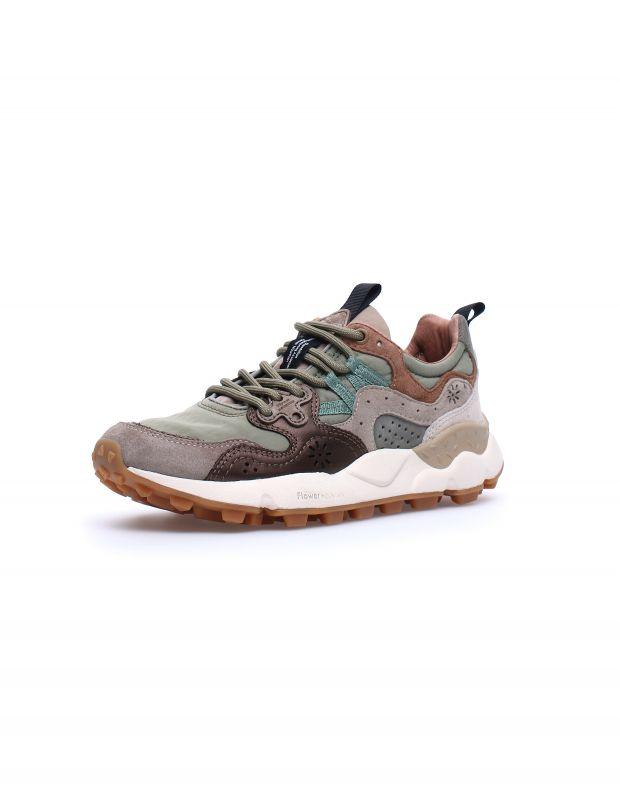 נעלי נשים - Flower Mountain - סניקרס YAMANO 3 - ירוק