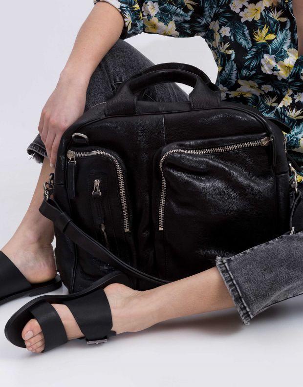 נעלי נשים - A.S. 98 - תיק כיסים גדול - שחור