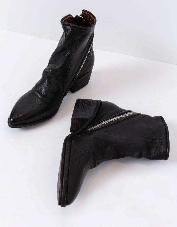 נעלי נשים - A.S. 98 - מגפוני עור PARADE - שחור