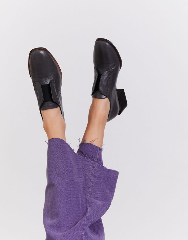 נעלי נשים - Yuko Imanishi - נעליים סגורות TSUBASA - אפור