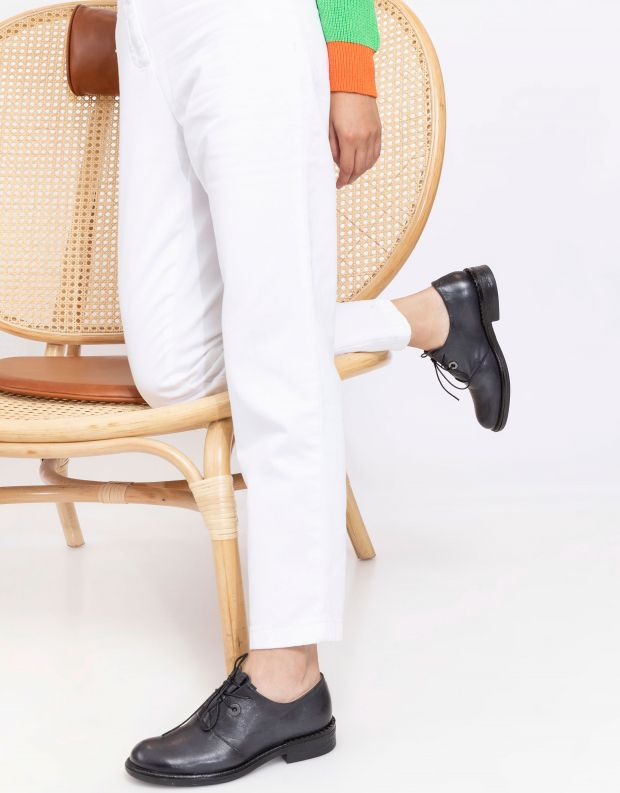נעלי נשים - Mjus - נעלי אוקספורד PALLY - אפור
