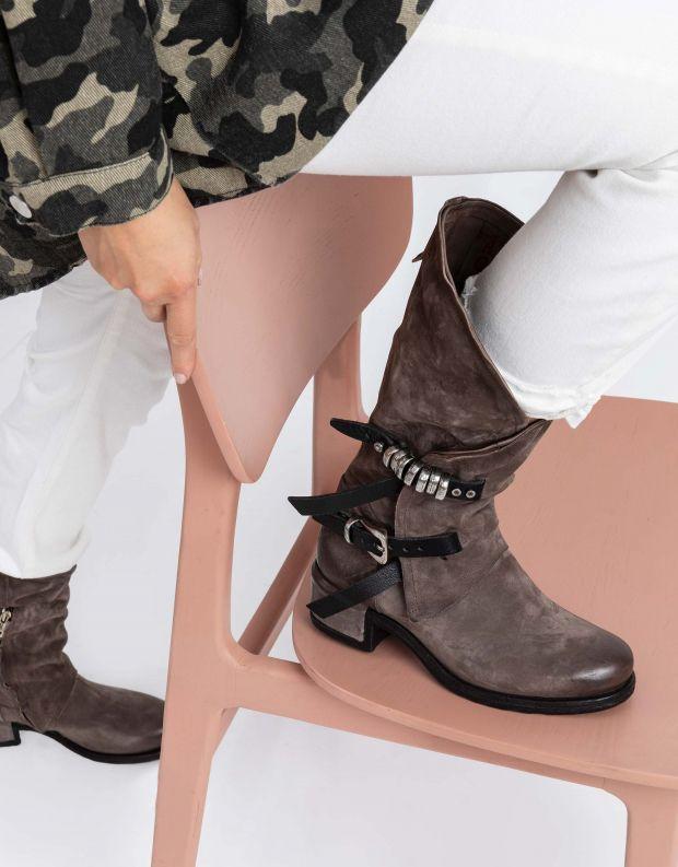 נעלי נשים - A.S. 98 - מגפי מעטפת ISPERIA - אפור