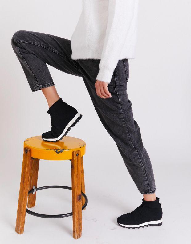 נעלי נשים - NR Rapisardi - מגפונים טבעוניים BECCO - שחור