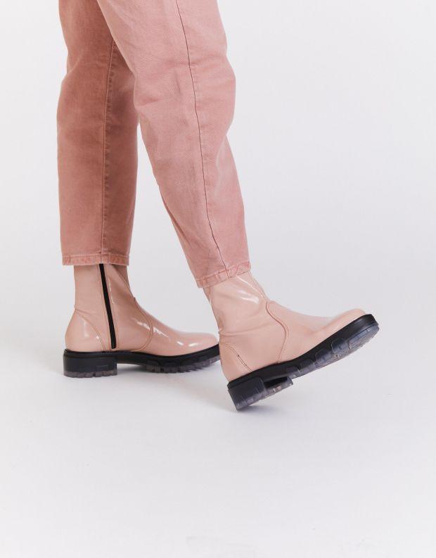 נעלי נשים - NR Rapisardi - מגפונים INA PATENT - ורוד