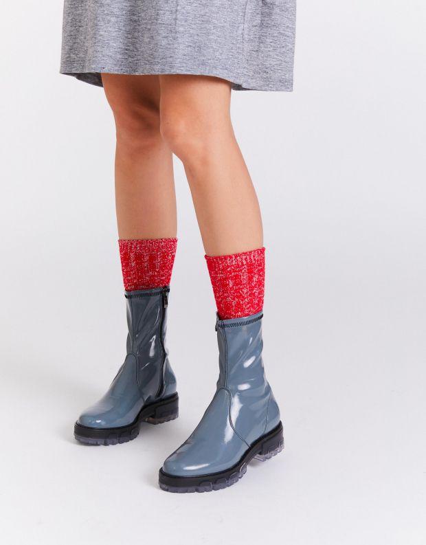 נעלי נשים - NR Rapisardi - מגפונים INA PATENT - תכלת