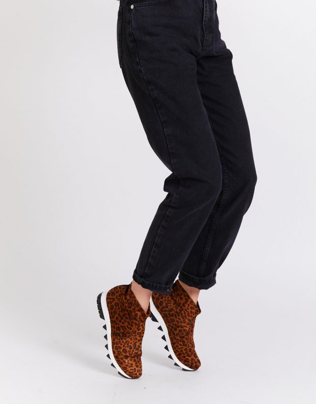 נעלי נשים - NR Rapisardi - מגפונים BECCO ENIMAL - נמר