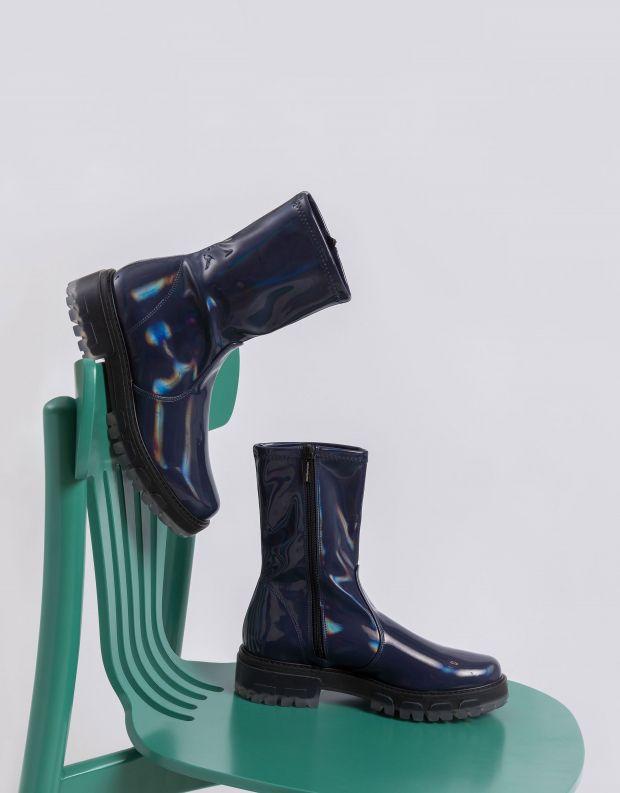 נעלי נשים - NR Rapisardi - מגפונים INA PATENT - כחול
