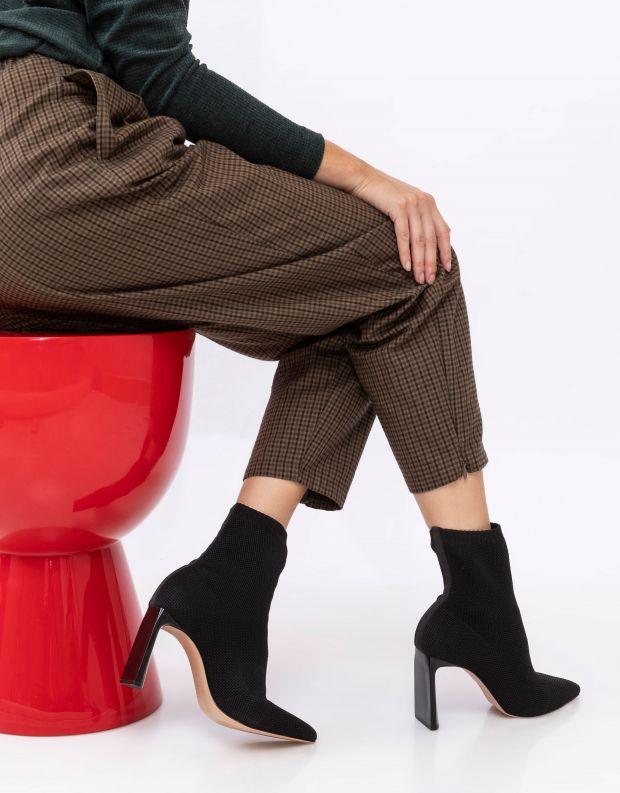 נעלי נשים - Schutz - מגפוני גרב JULY - שחור