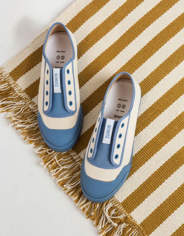 נעלי נשים - Schutz - סניקרס MASSEY - תכלת