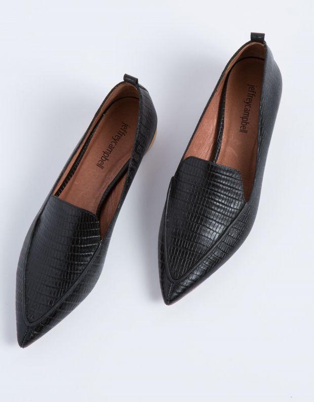 נעלי נשים - Jeffrey Campbell - נעלי סירה VIONA - שחור