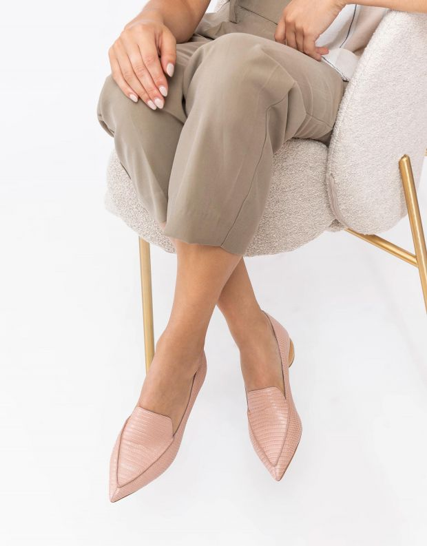 נעלי נשים - Jeffrey Campbell - נעלי סירה VIONA - ורוד
