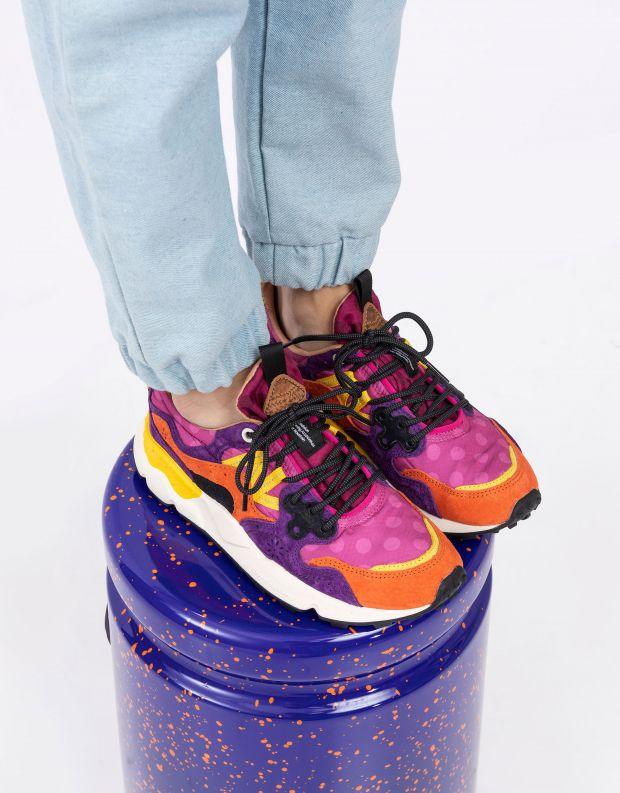 נעלי נשים - Flower Mountain - סניקרס YAMANO 3 - סגול