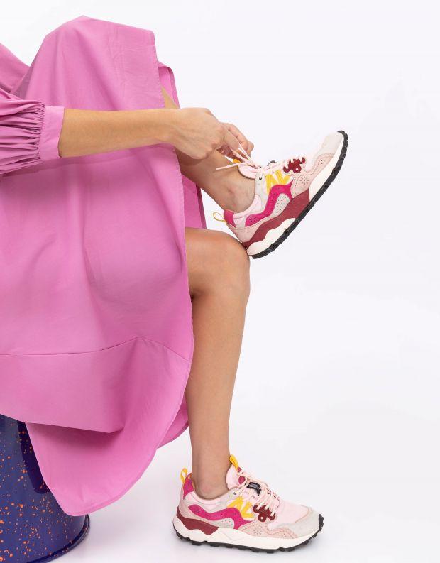 נעלי נשים - Flower Mountain - סניקרס YAMANO 3 - ורוד